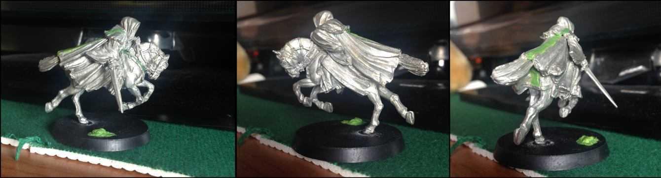 Come dipingere miniature Games Workshop - Tutorial 12: i Nazgûl