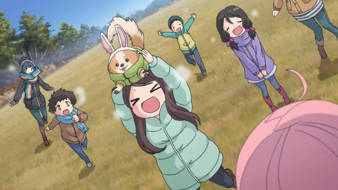 Anime sotto le coperte: in campeggio con Yuru Camp