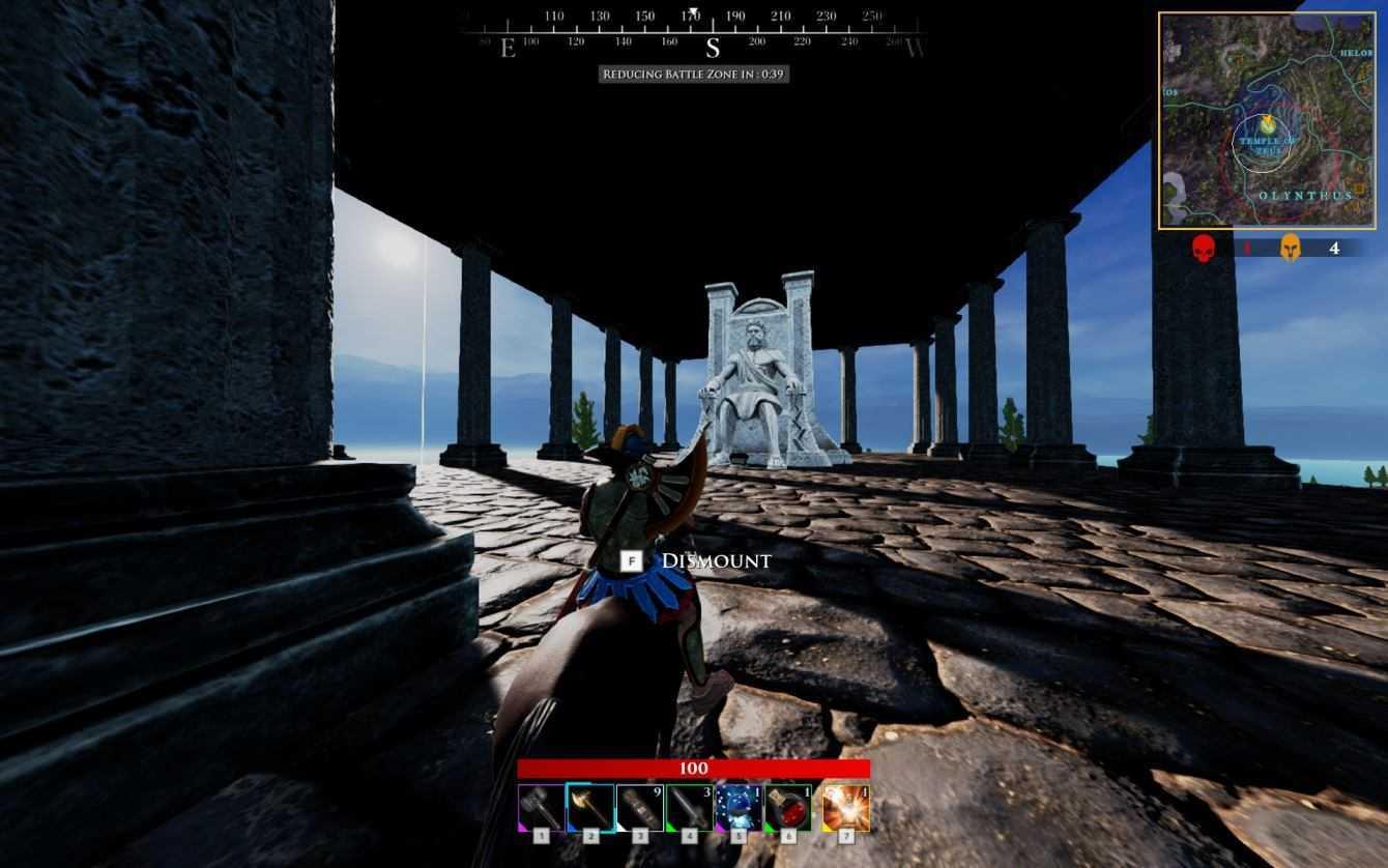Zeus' Battlegrounds il battle royal divino! | Recensione