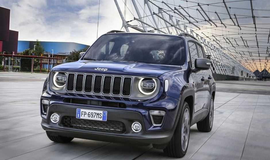 """Jeep Renegade eletta """"SUV Urbain de l'Année"""""""