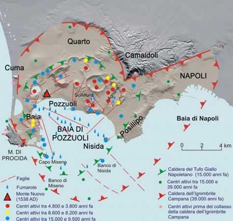 Geologia: il supervulcano dei Campi Flegrei torna attivo