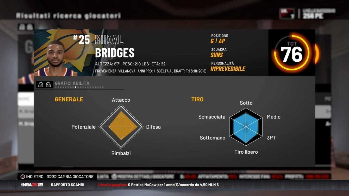 NBA 2K19: i 10 migliori rookies per vincere | Guida