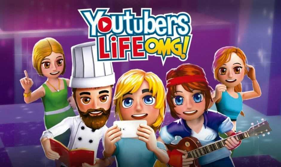 Youtubers Life OMG! arriva l'edizione fisica per Nintendo Switch