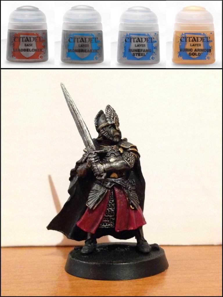 Come dipingere miniature Games Workshop - Tutorial 18: Re Elendil