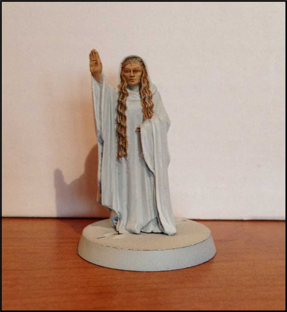 Come dipingere miniature Games Workshop - Tutorial 15: Galadriel