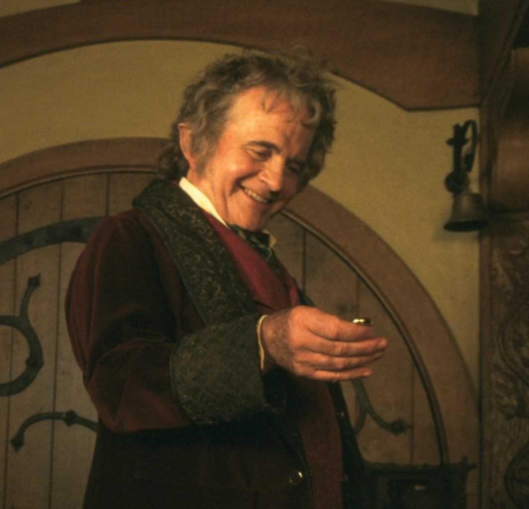 Ian Holm: Peter Jackson ed il commovente addio a Bilbo