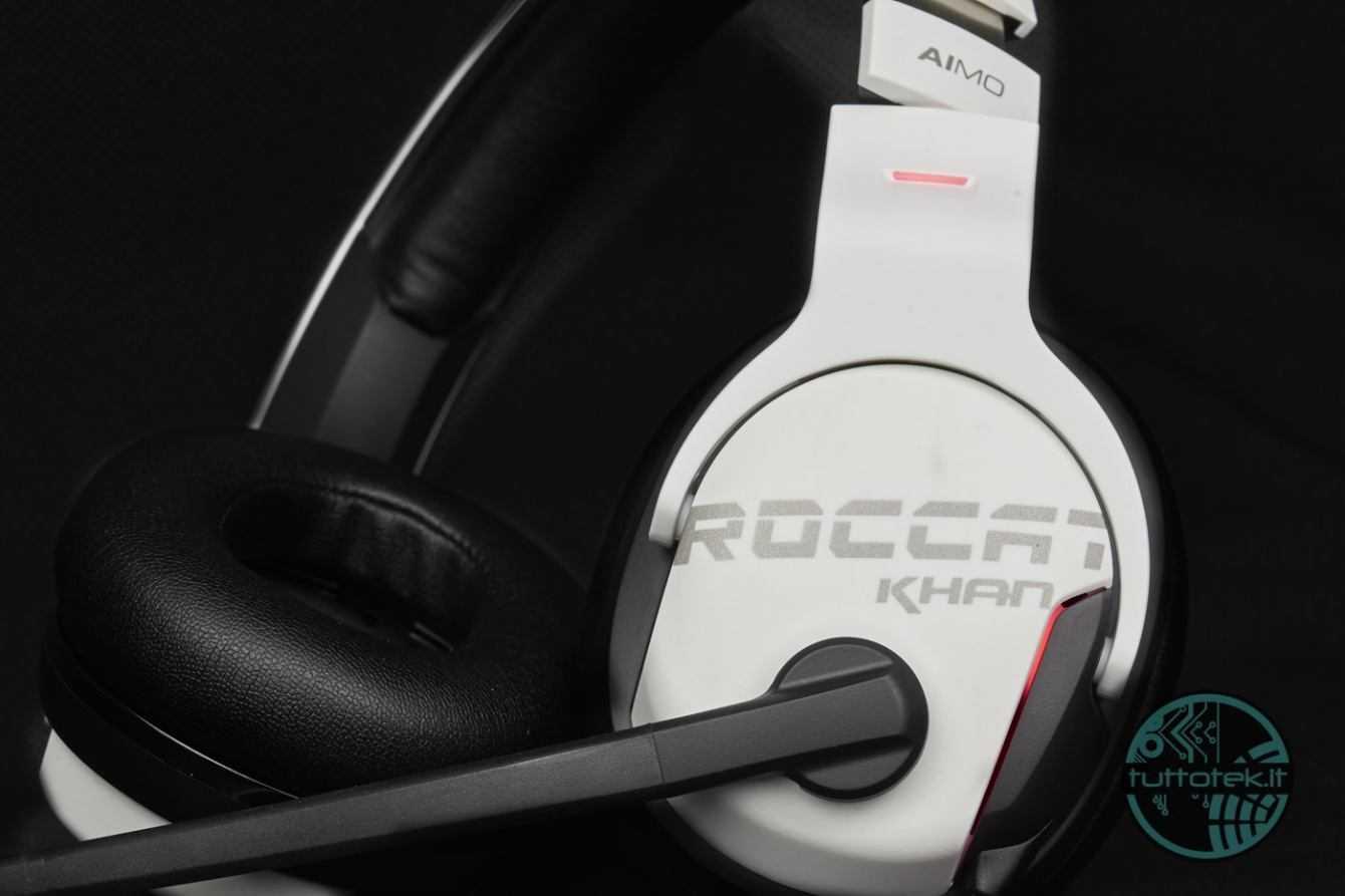 Cuffie da gaming Roccat Khan Aimo White | Recensione
