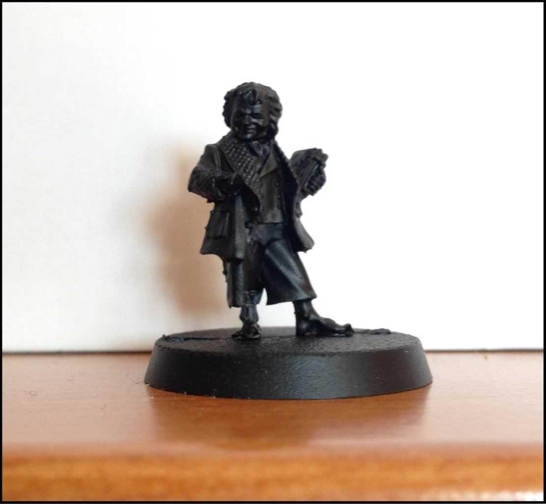 Come dipingere miniature Games Workshop - Tutorial 21: Bilbo Baggins