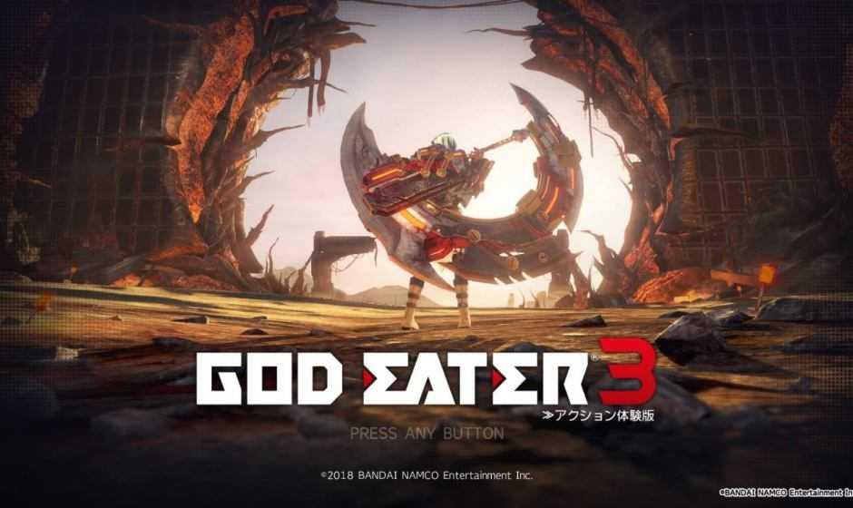 God Eater 3: in arrivo su Nintendo Switch