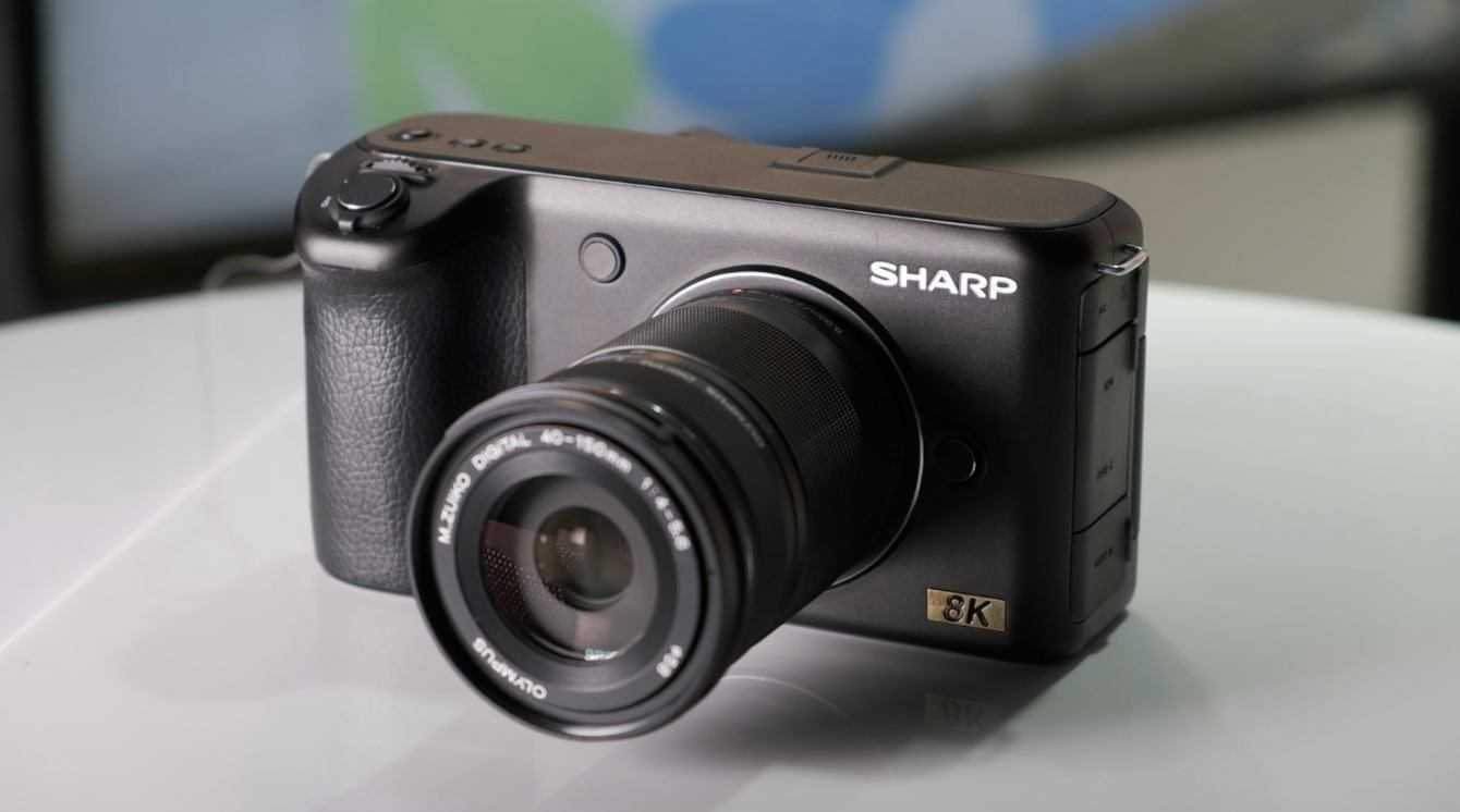 Sharp: prova sul campo della videocamera 8K Micro Quattro Terzi