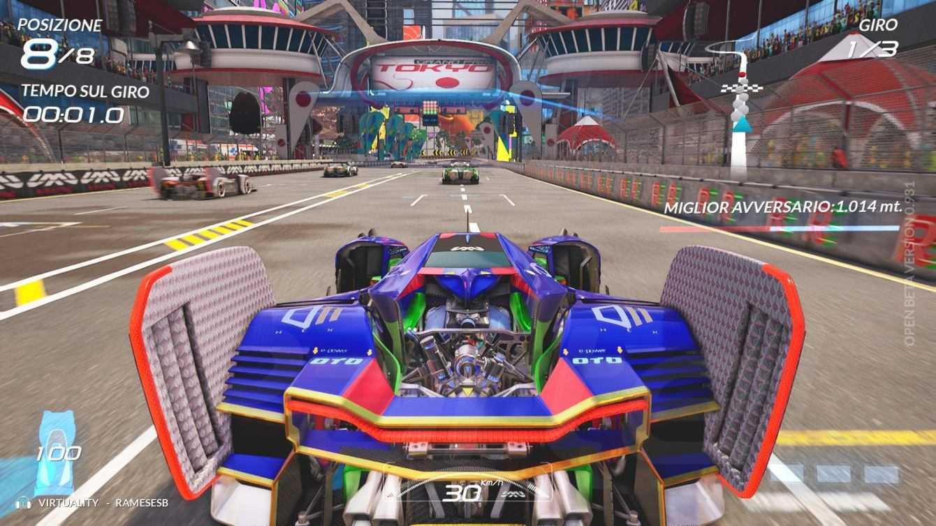 Anteprima Xenon Racer Open Beta: arcade fino all'osso