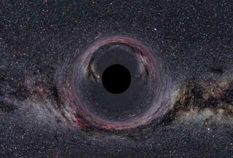 Astrofisica: come si nutre un buco nero?