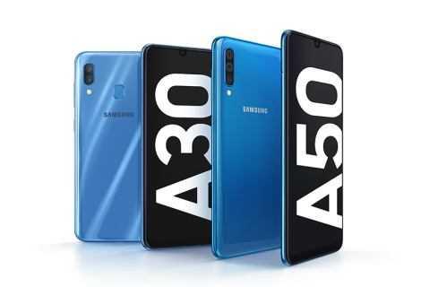 Samsung Galaxy A30 e A50: specifiche tecniche, prezzo e uscita