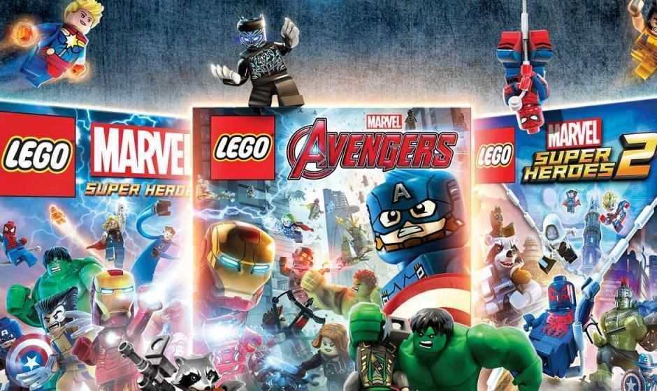 LEGO Marvel Collection da oggi disponibile!