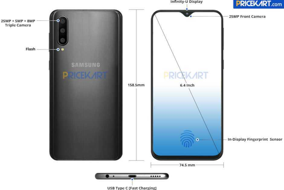 Samsung Galaxy A40: rumors riguardo specifiche e prezzo
