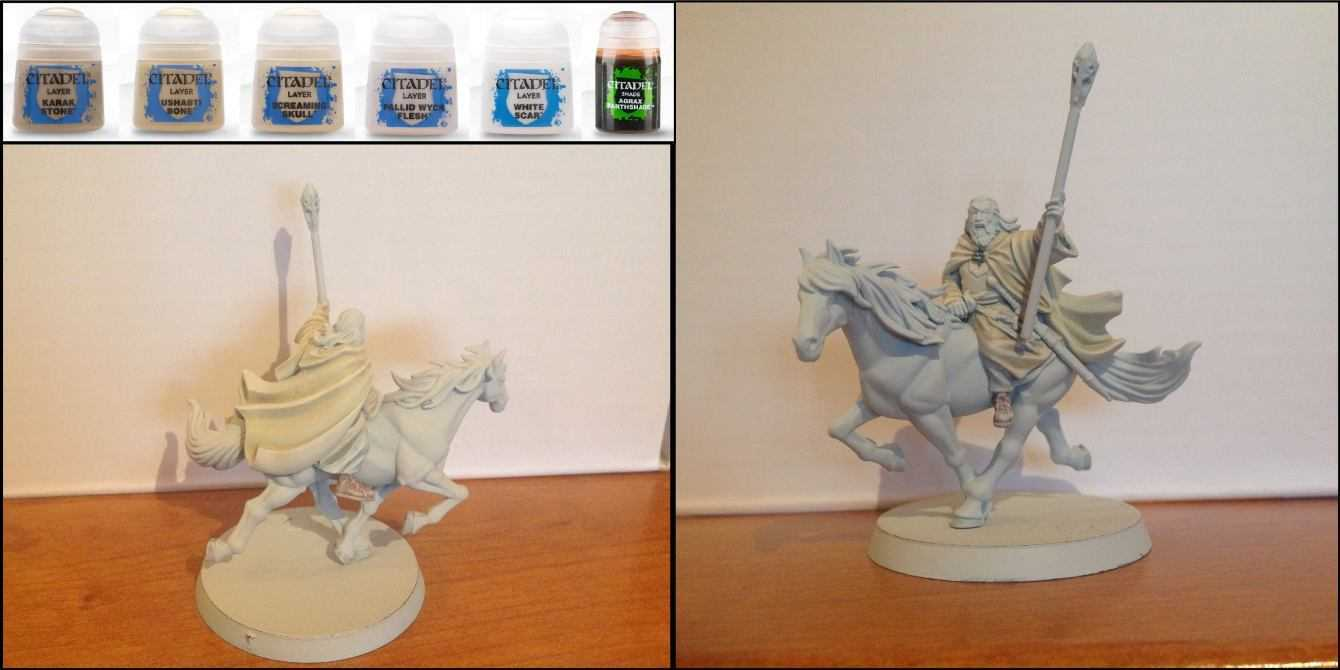 Come dipingere miniature Games Workshop - Tutorial 30: Gandalf il Bianco
