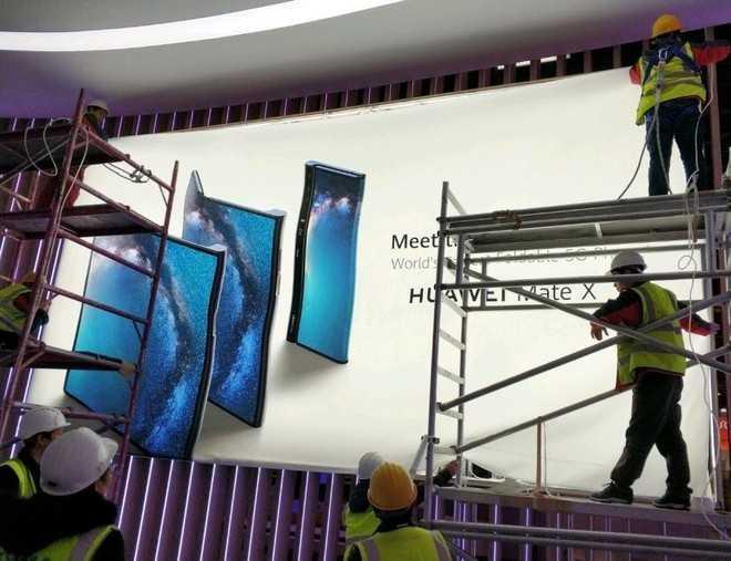 Huawei Mate X: prime immagini ne svelano l'estetica