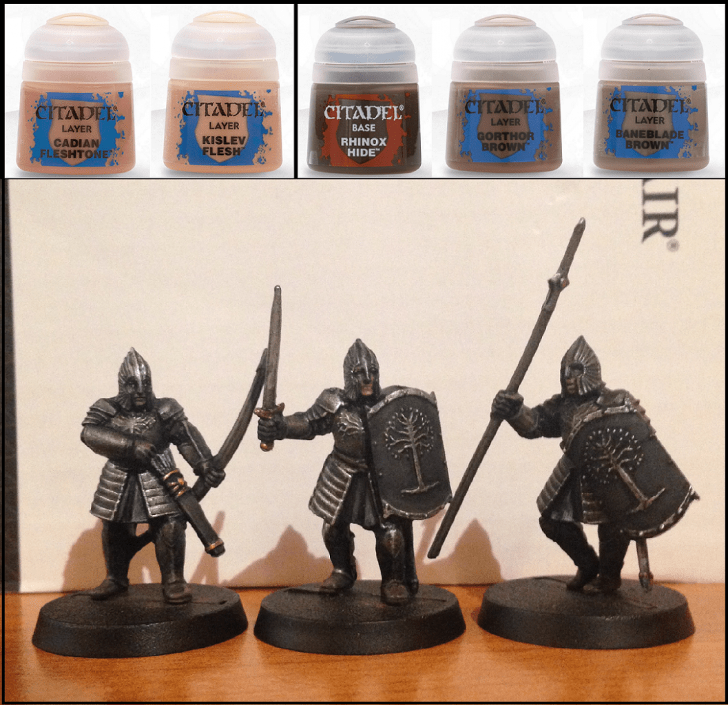 Come dipingere miniature Games Workshop - Tutorial 28: guerrieri di Minas Tirith