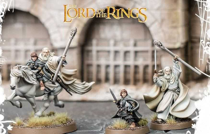 Come dipingere miniature Games Workshop – Tutorial 30: Gandalf il Bianco