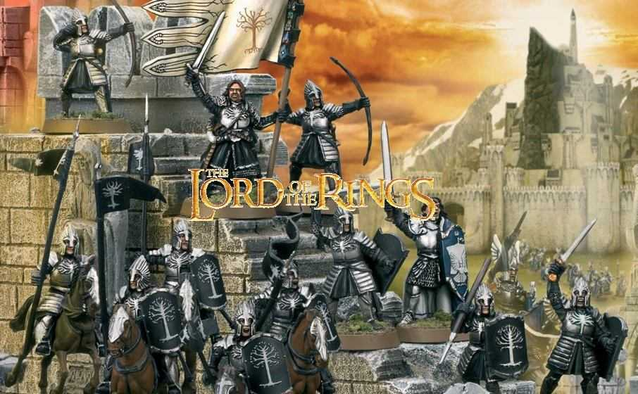 Come dipingere miniature Games Workshop – Tutorial 28: guerrieri di Minas Tirith