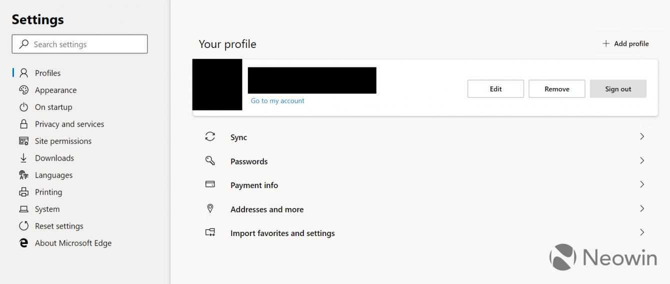 Microsoft Edge: passaggio a Chromium e prime immagini