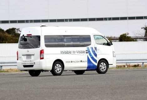 Nissan e DOCOMO: test tecnologia Invisible-to-Visible 5G