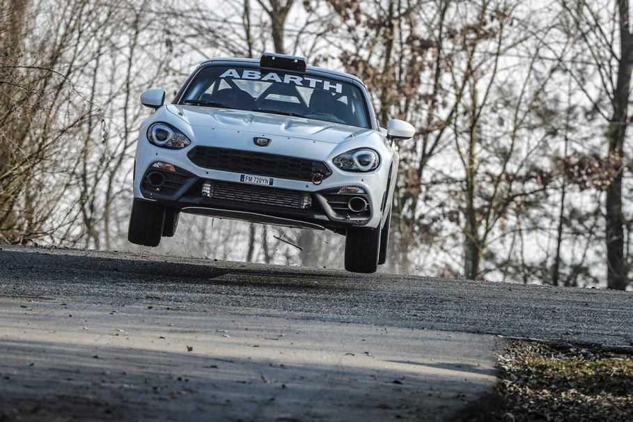Si aprono le iscrizioni all'Abarth Rally Cup 2019
