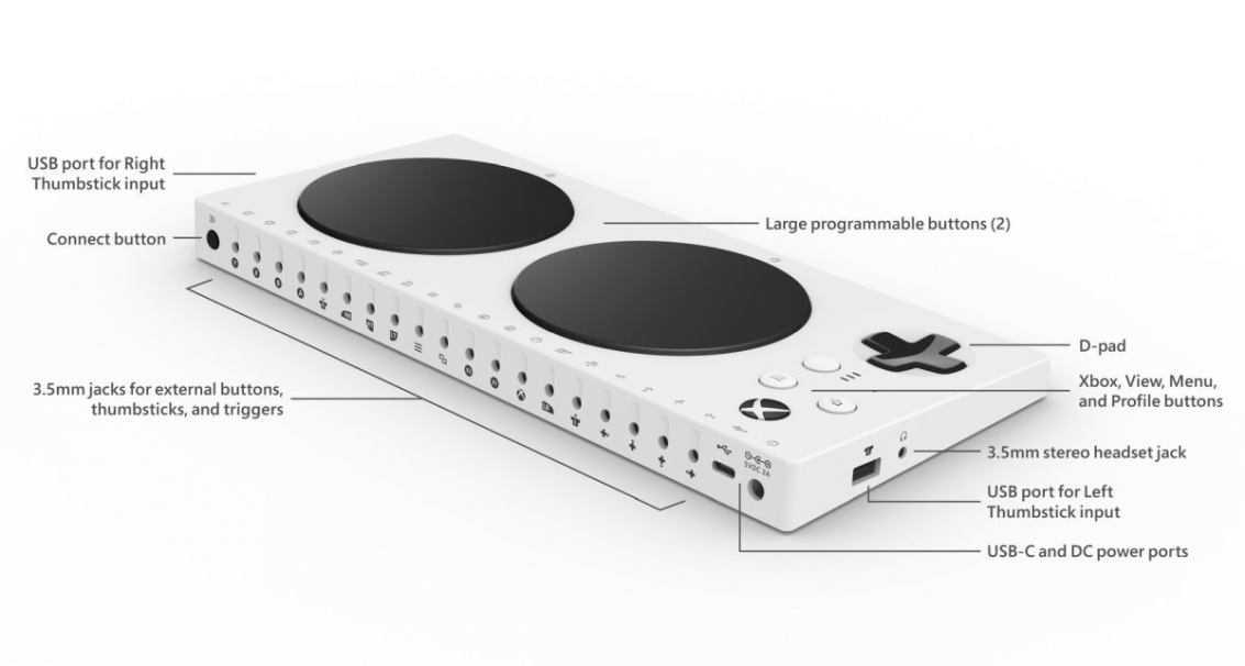 Google Stadia: il servizio supporterà l'Xbox Adaptive Controller