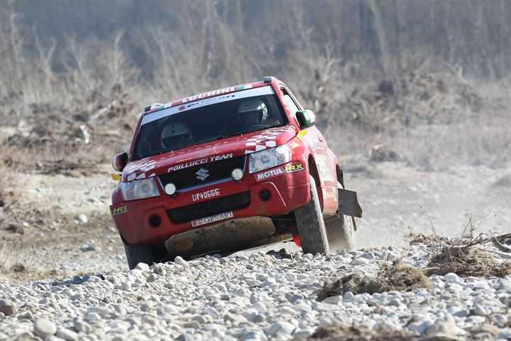 Suzuki leader tra le auto fuoristrada del Cross Country