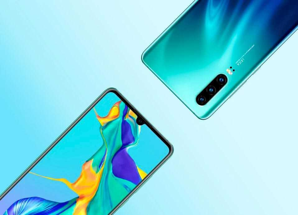 Huawei P30 e P30 Pro: immagini svelano design e caratteristiche