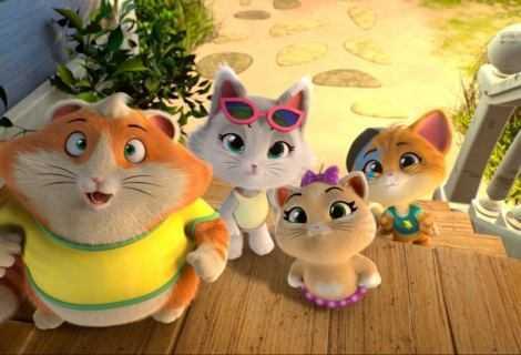 """In Home Video i primi due volumi della serie animata """"44 Gatti"""""""