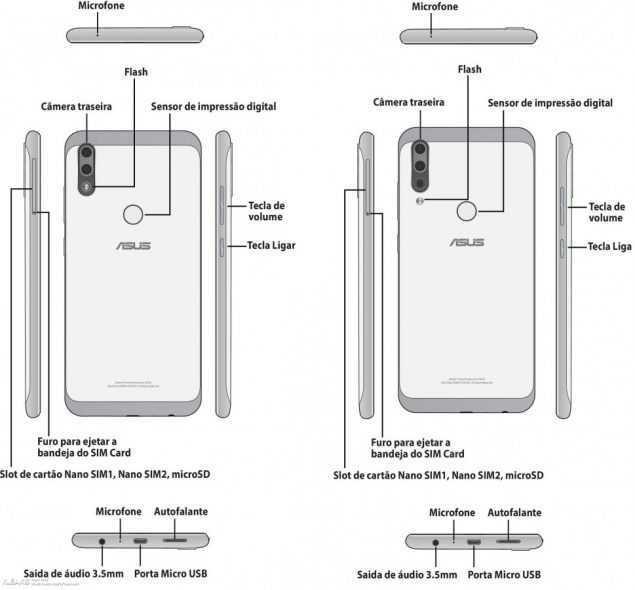 ASUS ZenFone Max Plus e Max Shot: foto e specifiche tecniche