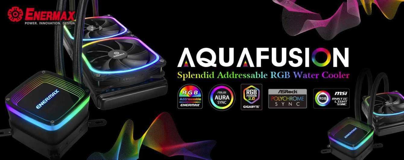 Presentato Enermax AquaFusion, nuovo dissipatore AIO