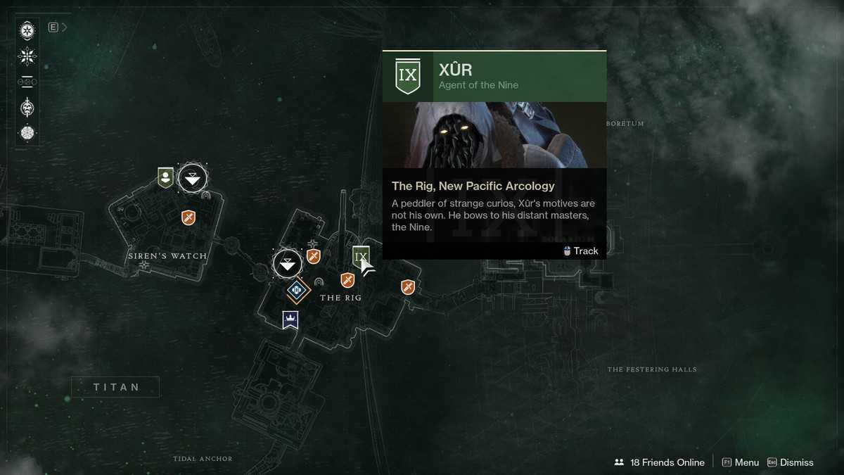 Destiny 2: oggetti in vendita da Xur dal 13 Settembre