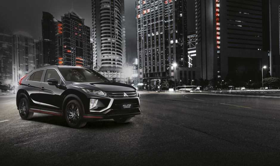 Mitsubishi Eclipse Cross Knight, cavaliere oscuro e solitario