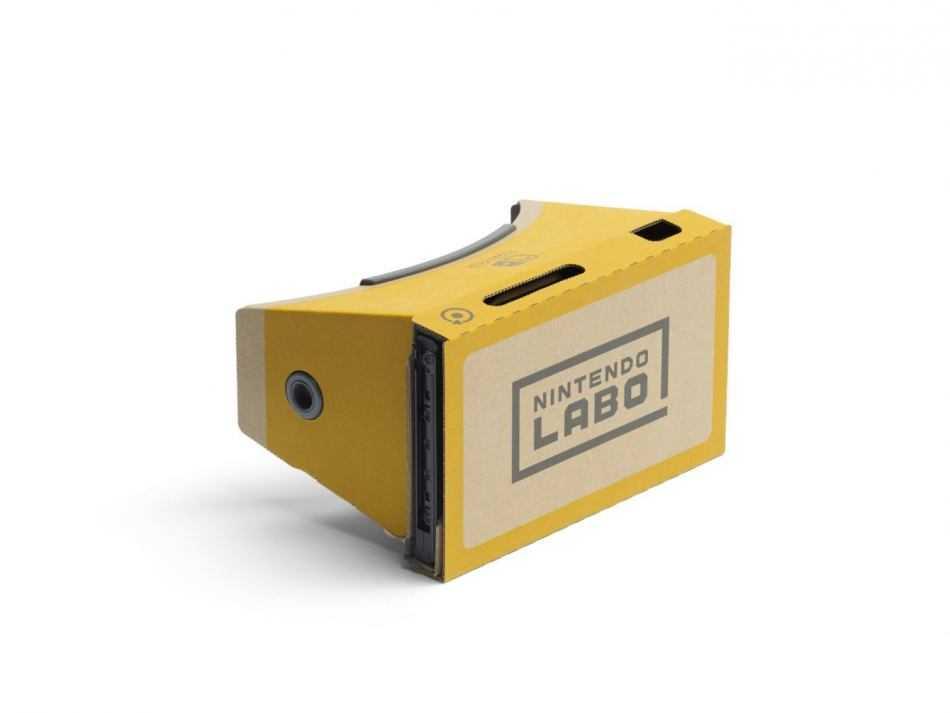 Nintendo Labo: Kit VR, è in arrivo su Switch la realtà virtuale!