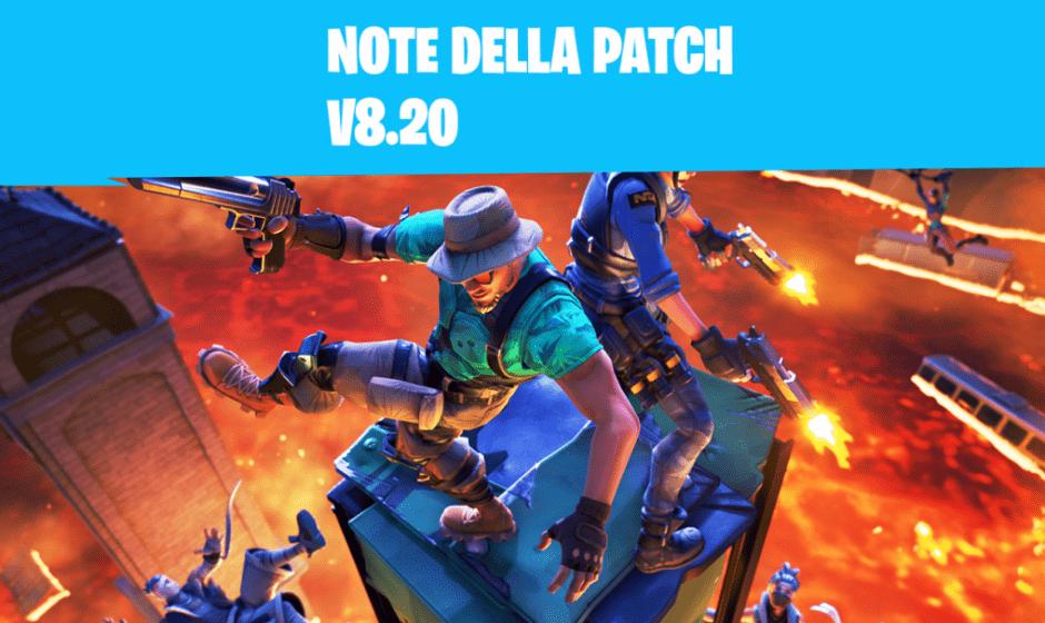 Fortnite patch 8.20: Pavimento di Lava e Trappola velenosa