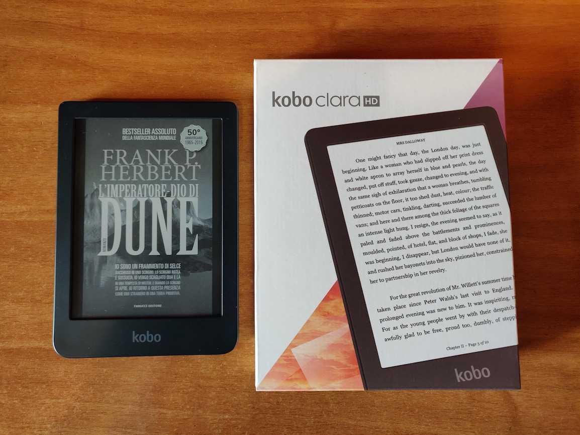 Recensione Kobo Clara HD: piccolo e brillante