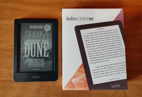 Kobo Clara HD: piccolo e brillante | Recensione