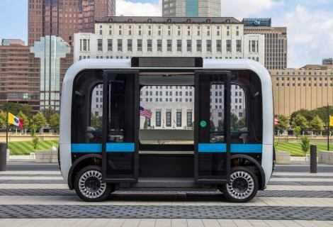 Goodyear e Local Motors: shuttle a guida autonoma