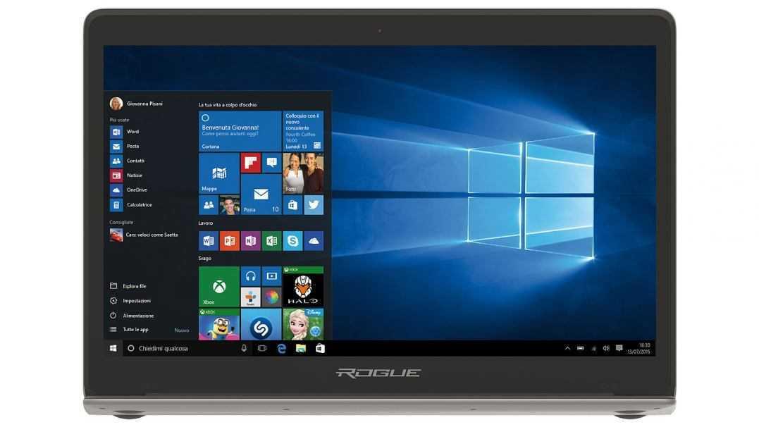 ROGUE debutta sul mercato con l'accattivante laptop Rogue 13X
