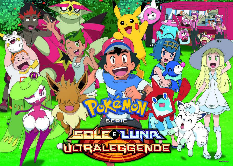 Pokémon Sole e Luna - Ultraleggende: in arrivo in Italia su K2!