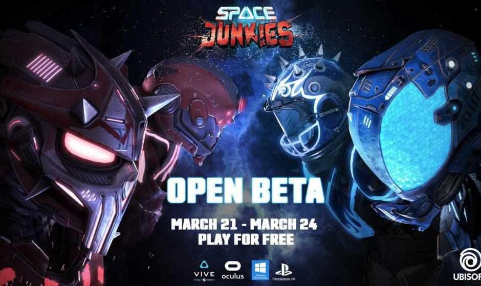 Space Junkies: inizia l'open beta domani 21 marzo!