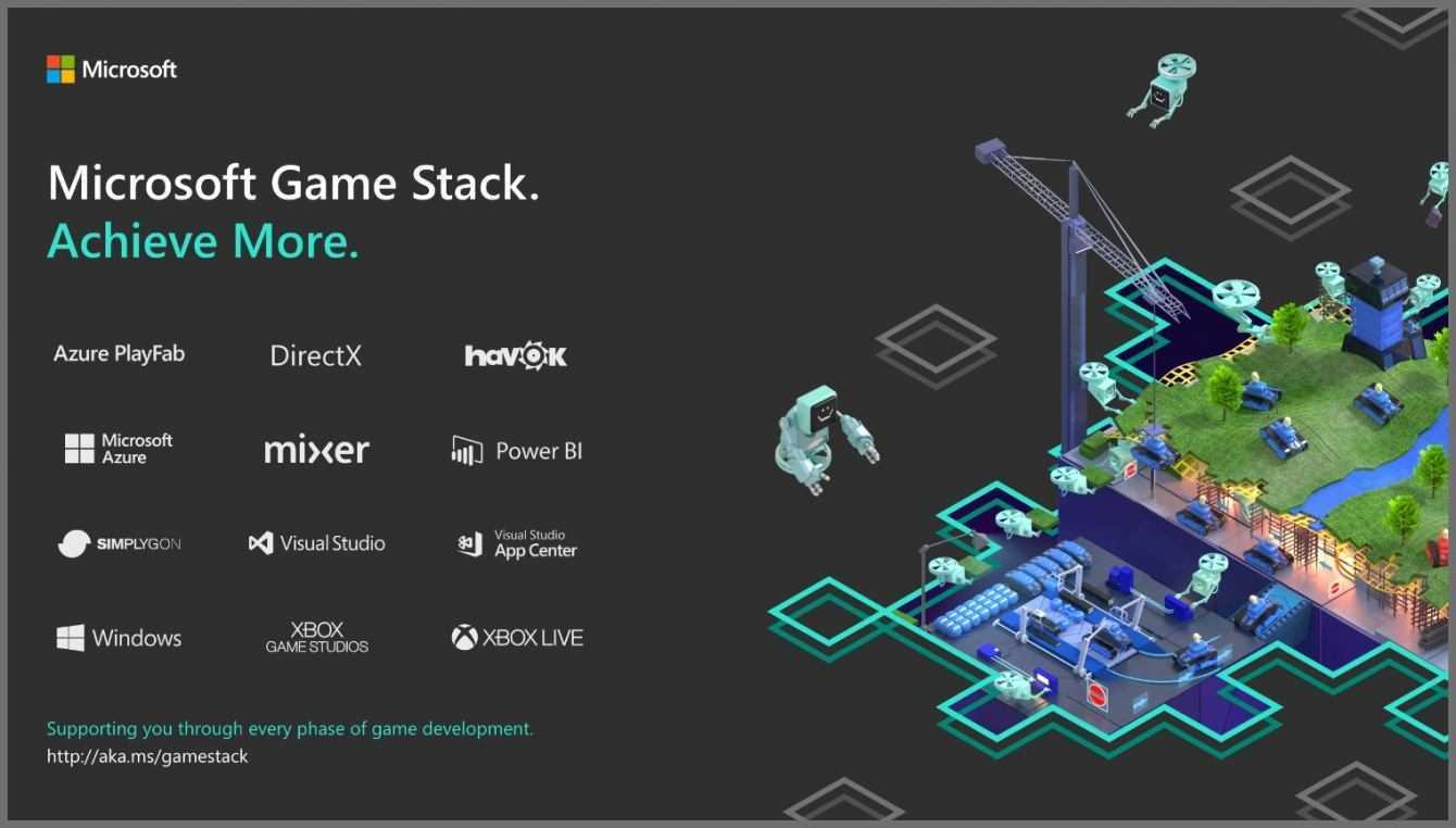 Microsoft annuncia Microsoft Game Stack in attesa di GDC 2019