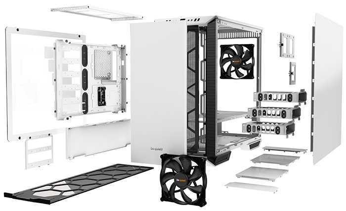 be quiet! annuncia Dark Base 700 White Edition