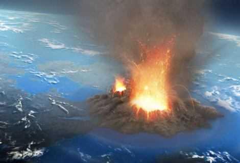 Geologia: i supervulcani più pericolosi dei meteoriti