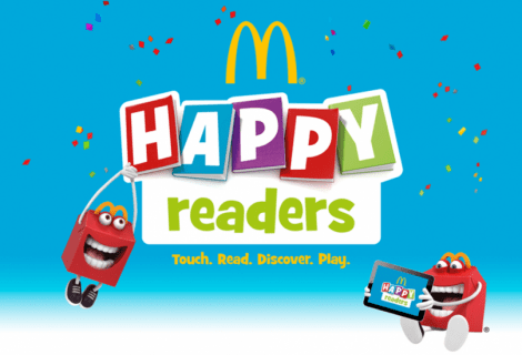 McDonald's: Happy Meal Readers offre libri ai più piccoli
