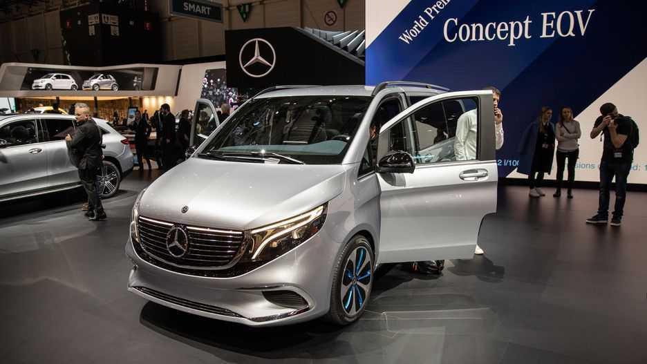Mercedes Concept EQV: prima monovolume Premium solo elettrica