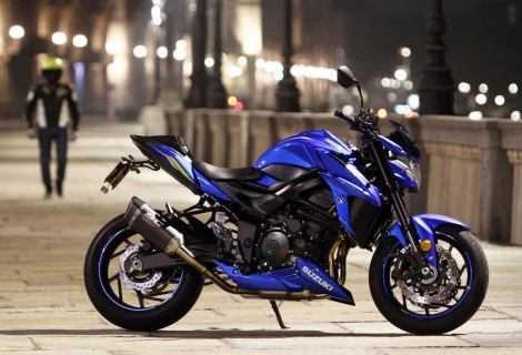 La gamma Suzuki in mostra e in prova al Motodays 2019