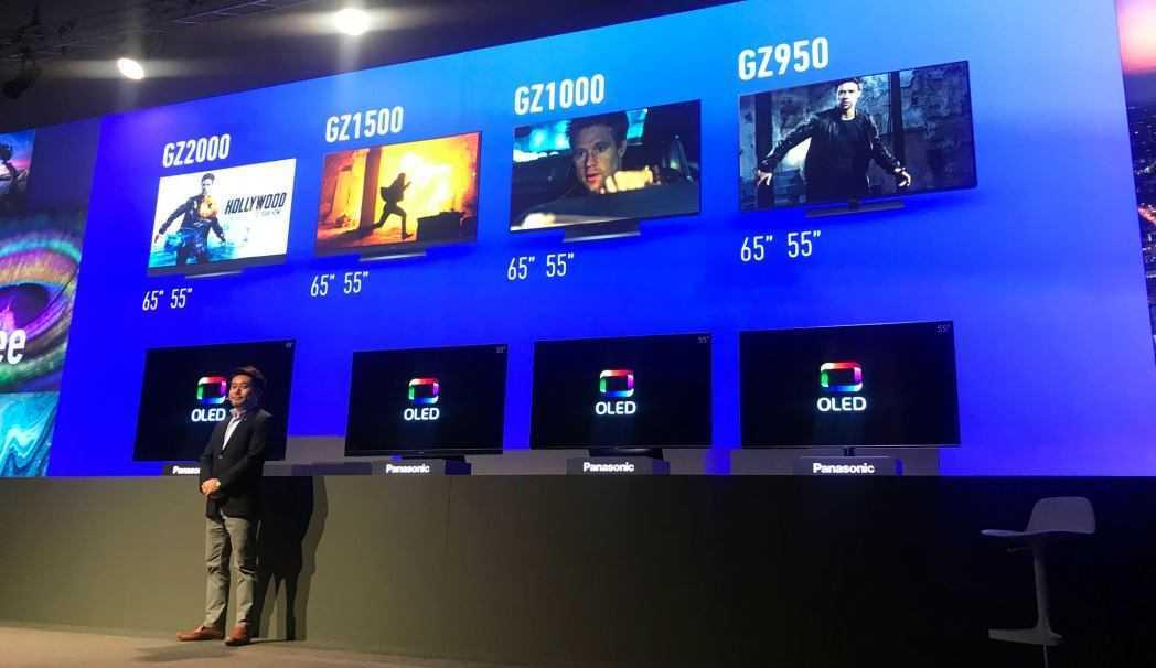 Panasonic: i prezzi della gamma TV OLED 2019